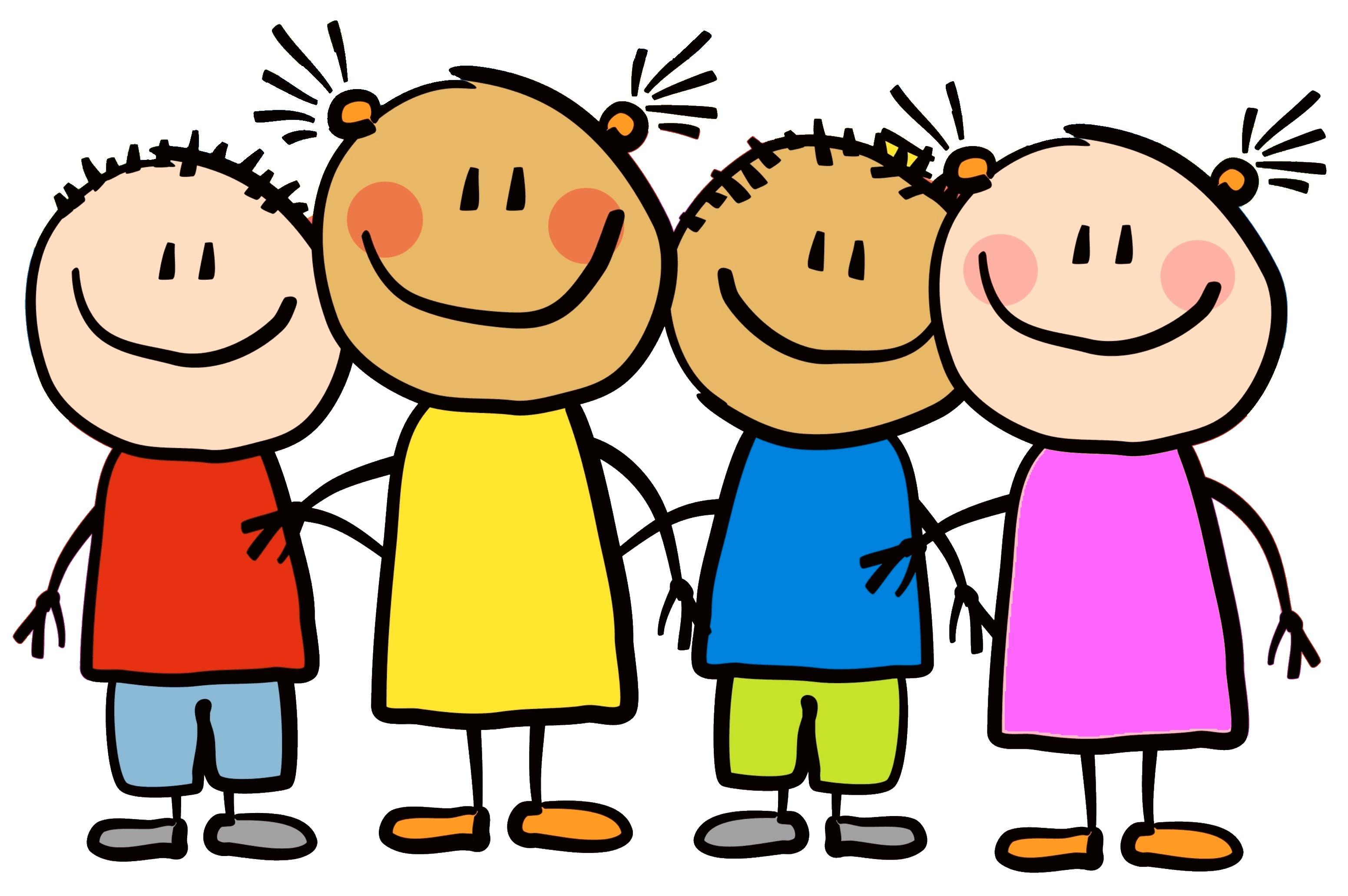 cartoon-little-kids-happy-clipart-7 | Elkhorn Public Schools Foundation