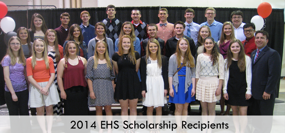 2014 EHS Scholarship Recipients